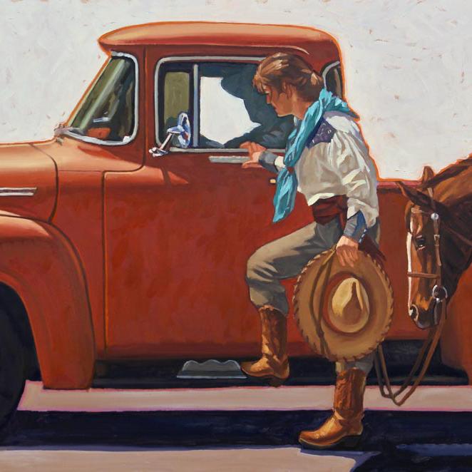 Dennis Ziemienski - Cowboys and Cowgirls