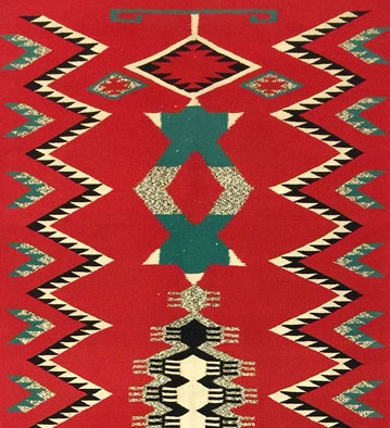 Navajo Weavings, Pueblo Pottery, Baskets, and Furniture