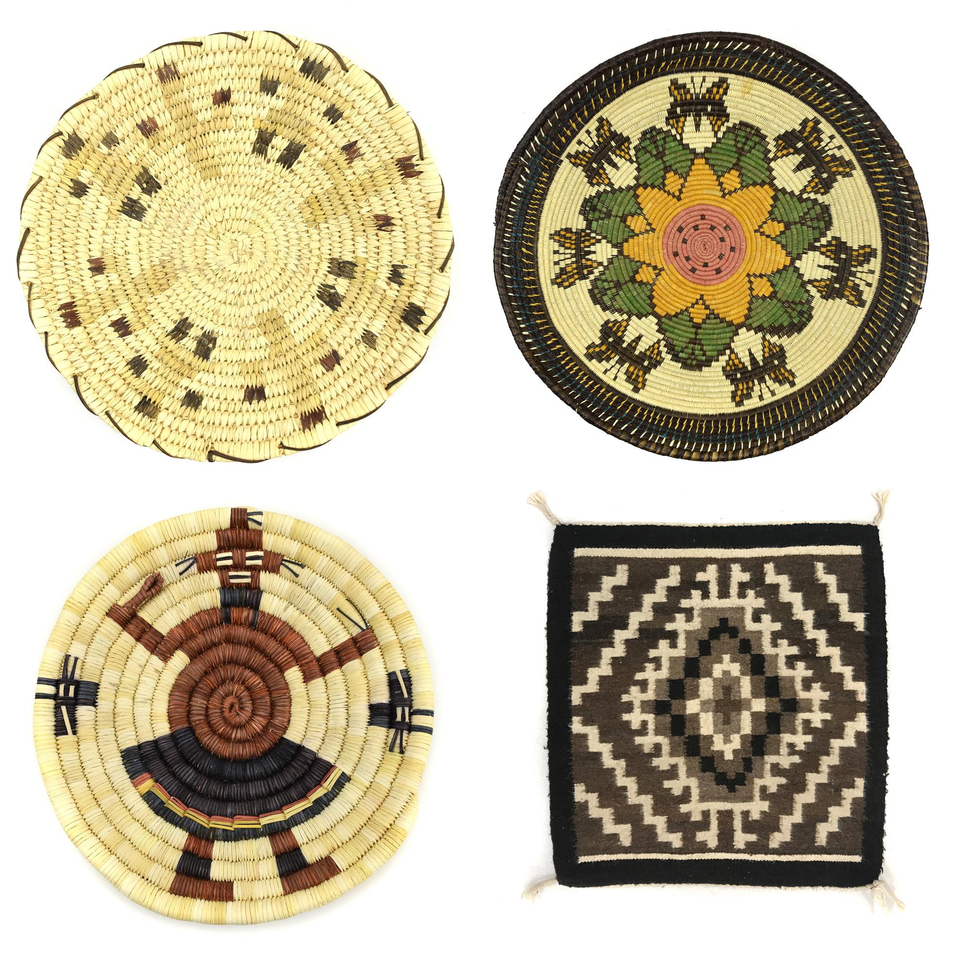 Featurette - Navajo Sampler Weavings, Panama, Tohono O'odham, and Hopi Baskets