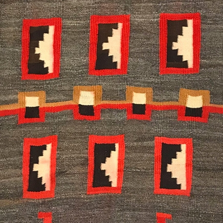 Baskets, Navajo Rugs and Blankets, and Beadwork - Private Collections