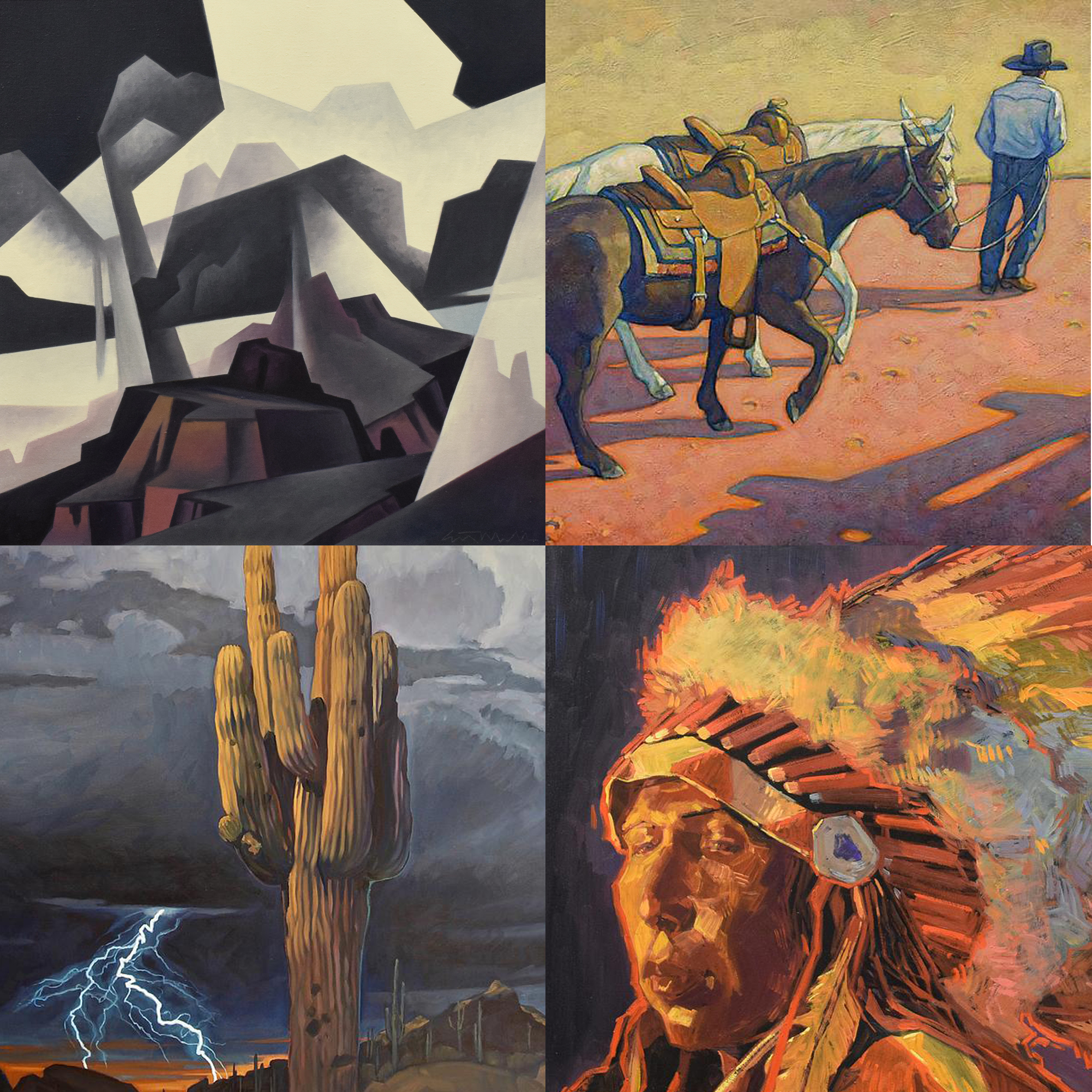 New Works Show - New Paintings by 26 Artists - November-December 2019