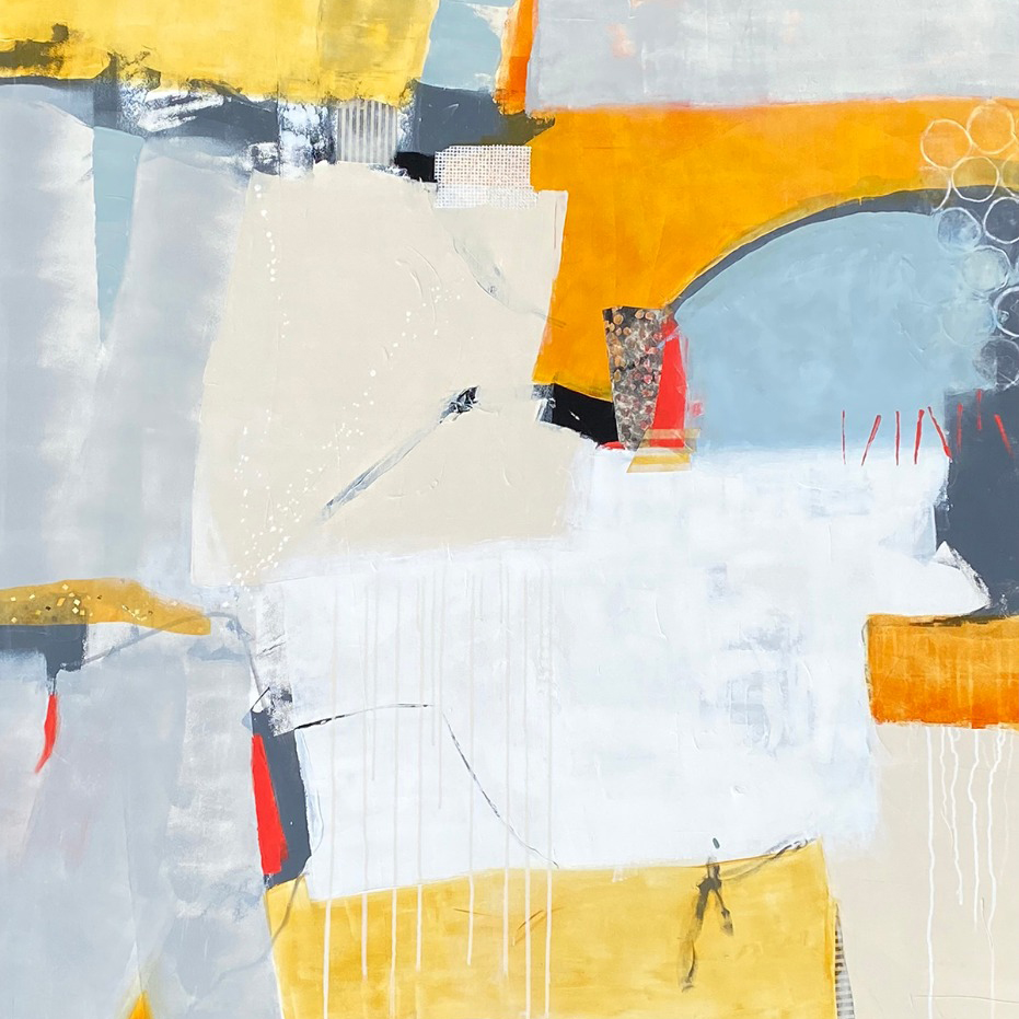 February 12, 2021 Martha Braun, Featured Painter, Abstract Expressionist