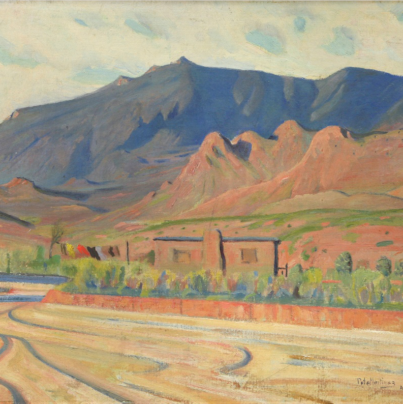 September 1, 2021 Pete Martinez Painting, Hopi Baskets, Navajo Weavings, Old Pawn Jewelry, and More
