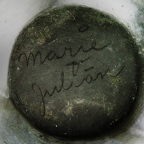 Marie Julian Signed Pottery