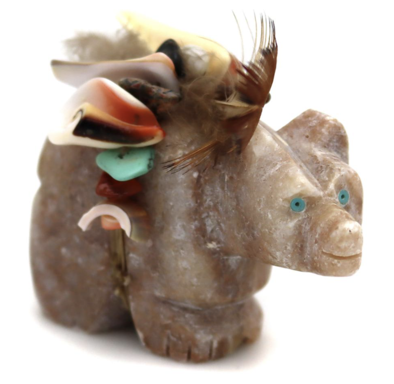 Zuni Carved Stone Animal Fetishes