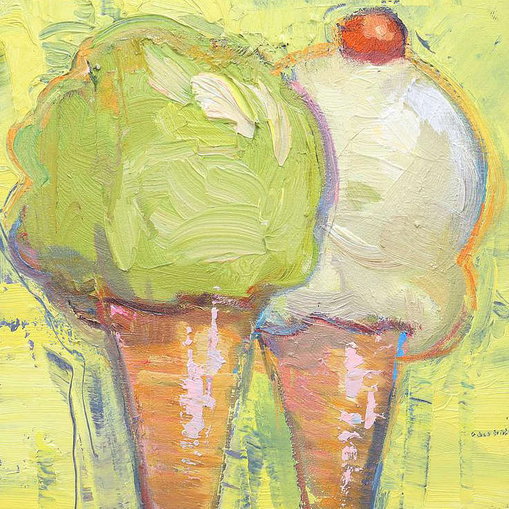 Francis Livingston Ice Cream Paintings