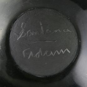 Santana Adam Signed Pottery