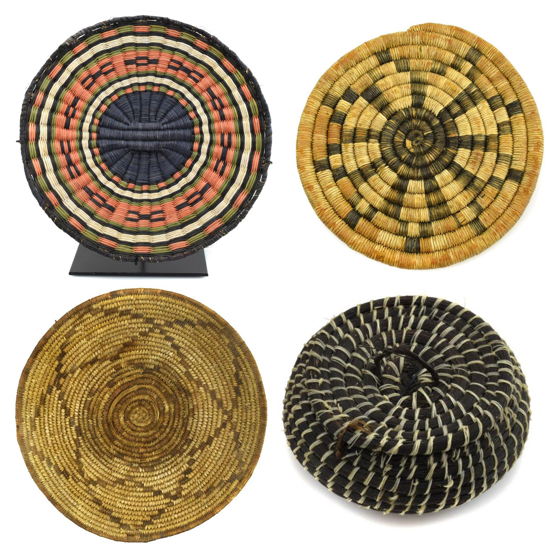 Featurette - Over 40 Baskets for Sale, Tohono O'odham, Hopi, Apache, Pima, Havasupai, and Paiute