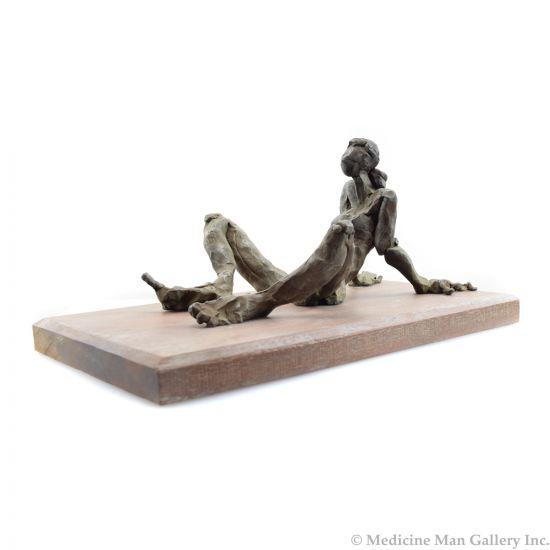 Curt Brill - Seated Figure II - AP/5