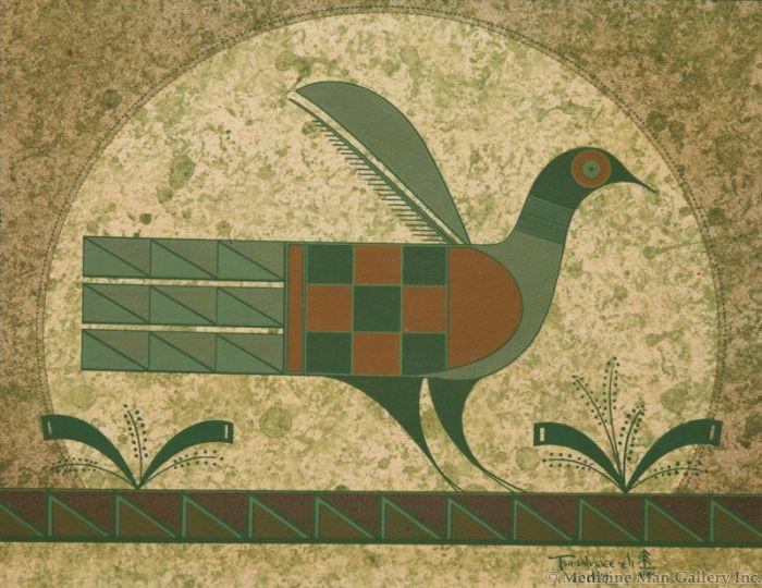 SOLD Helen Hardin (1943-1984) - Santo Domingo Bird of Spring