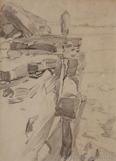 SOLD Gerald Cassidy (1879-1939) - Machieto's Shield
