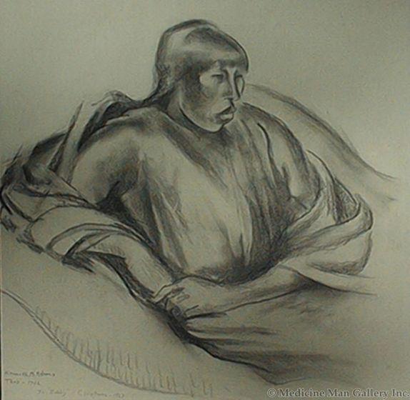 SOLD Kenneth Adams (1897-1966) - Taos Woman