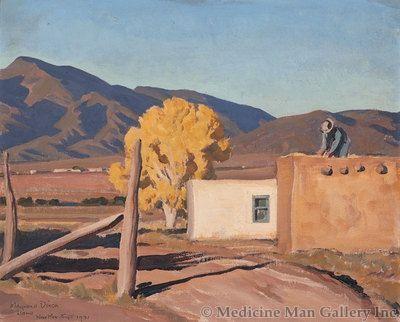 Maynard Dixon (1875-1946) - SOLD - Early Autumn