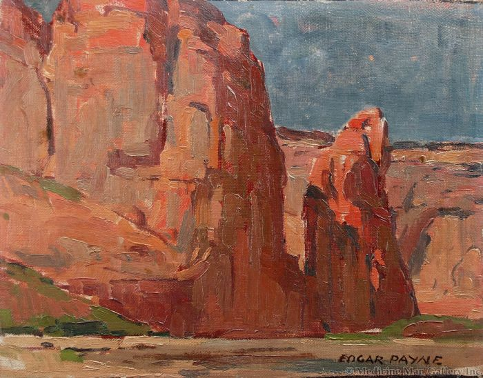 SOLD Edgar Payne (1883-1947) - In Canyon de Chelly