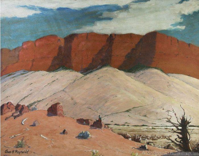 SOLD Charles H. Reynolds (1902-1963) - Navajo Land