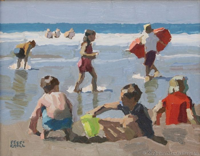 SOLD Peggi Kroll-Roberts - A Great Day at the Beach
