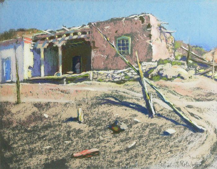 SOLD Julius Rolshoven (1858-1930) - Santa Fe