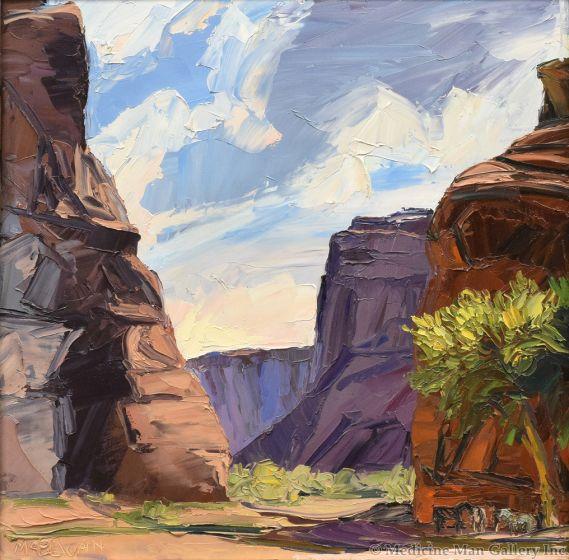 Louisa McElwain (1953-2013) - Antelope House Pickett Line, Noon