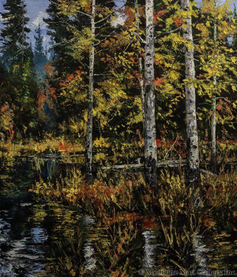 James Cook - Cattails, Beaver Pond (PLV90347B-1020-001)