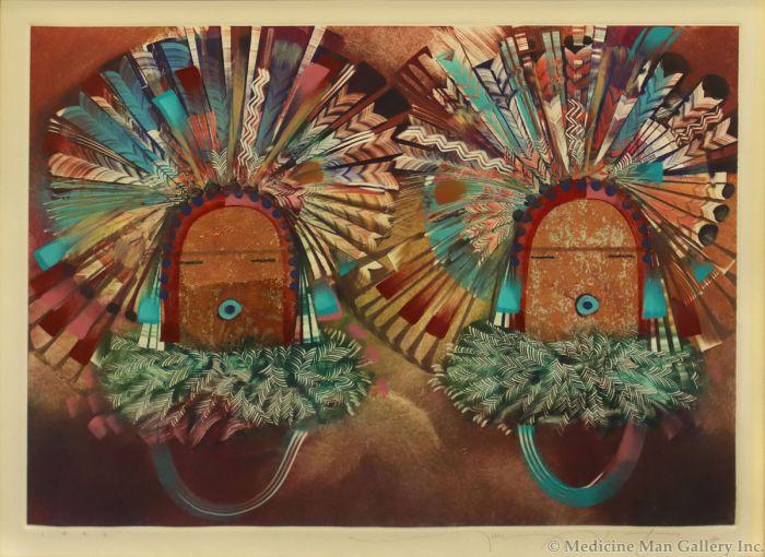 Tony Abeyta (b. 1956) - Untitled Kachina Figures (PLV90620A-0521-001)