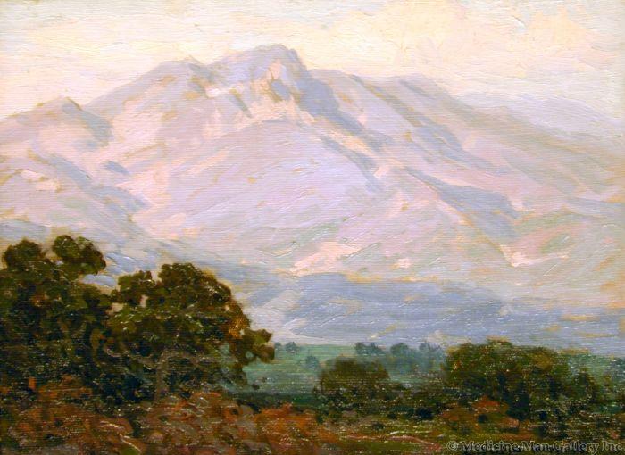 SOLD Edgar Payne (1993-1947) - Summer Sierras