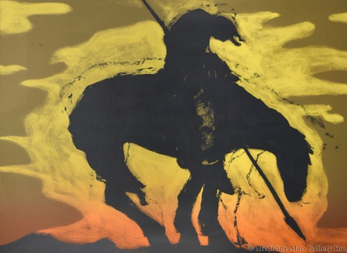 Fritz Scholder (1937-2005) - Indian Cliche