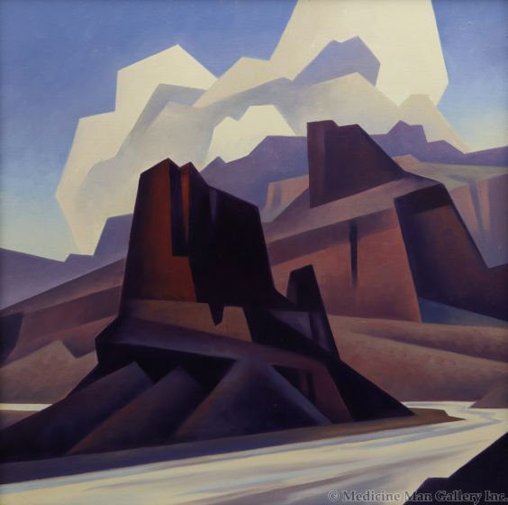 Ed Mell - Deep Canyon Forms