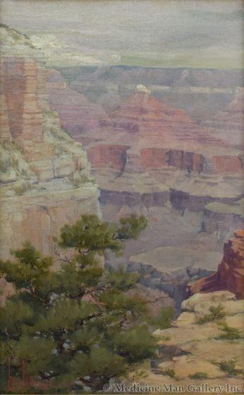 Louis Benton Akin (1868-1913) - Grand Canyon 1904