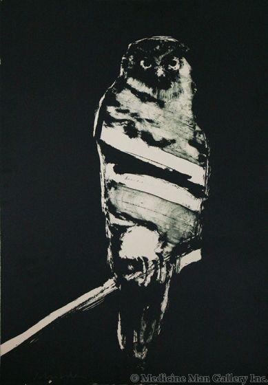 SOLD Fritz Scholder (1937-2005) - ANPAO/Owl