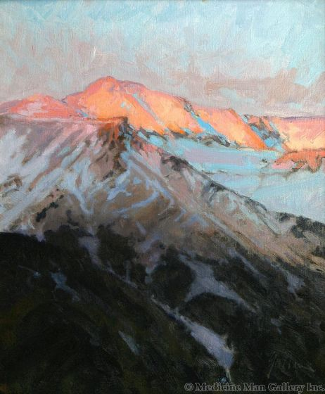 SOLD Bill Gallen - Fire on the Mountain