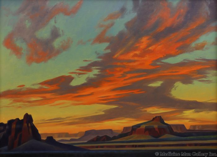 Ed Mell - Slicing Sunset