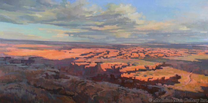 SOLD Jill Carver - Canyonlands - Last Light (PLV90335B-0221-004)