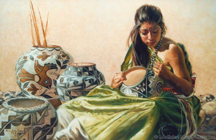 Terri Kelly Moyers - Pueblo Artistry (PLV91365-0117-002)