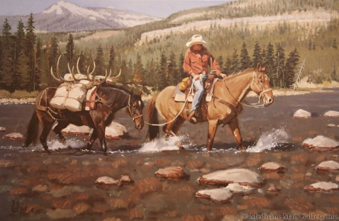 Fred Fellows - Southfork Crossing (Lithograph)