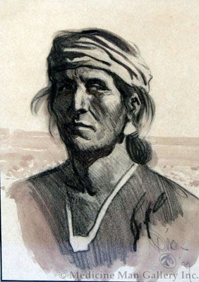 Maynard Dixon (1875-1946) - SOLD - Navajo