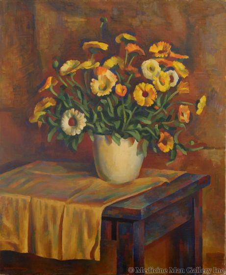 Kenneth Adams (1897-1966) - Floral Still Life