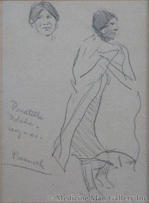 Maynard Dixon (1875-1946) - SOLD - Bannock - Pocatello, Idaho