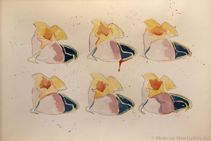 T. C. Cannon (1946-1978) - Baked Potato Moccasins