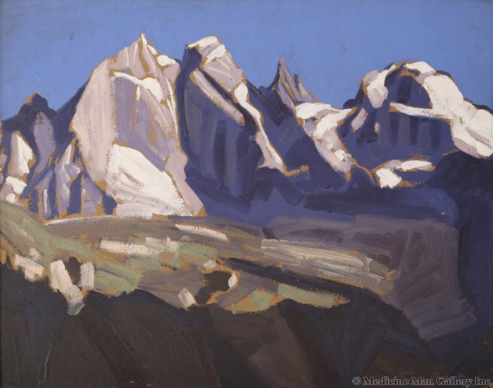 SOLD Conrad Buff (1886-1975) - Mountains