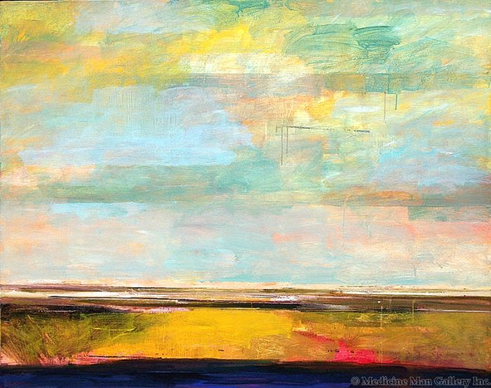 SOLD Mark Bowles - Western Sky