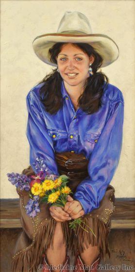 Terri Kelly Moyers - Prairie Flower