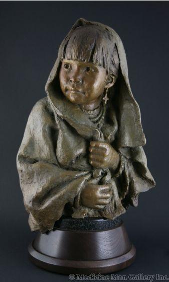 SOLD John Coleman, CAA - Little Pueblo Girl