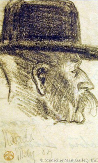 Maynard Dixon (1875-1946) - SOLD - Nevada