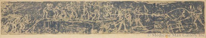 Gustave Baumann (1881-1971) - Deer Hunt (PDC91307B-1113-002)