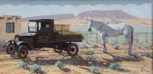 Fred Fellows - Caught in the Act (Giclee Print on Canvas)
