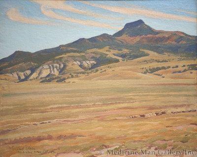 Maynard Dixon (1875-1946) - SOLD - Picacho Solito