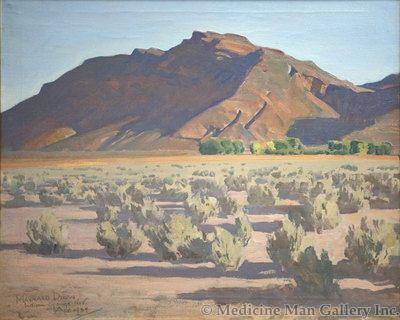 Maynard Dixon (1875-1946) - SOLD - Hills at Indian Springs