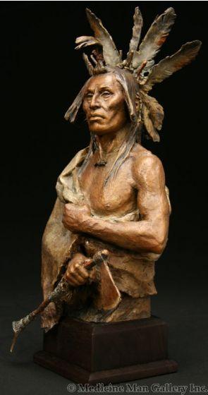SOLD John Coleman, CAA - Four Bears Bust
