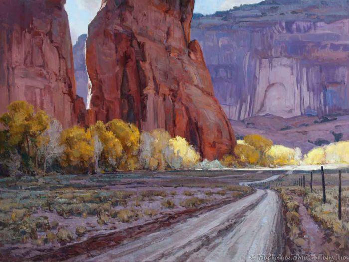 Josh Elliott - Light Slivers, Canyon de Chelly (PLV90524-1020-001)