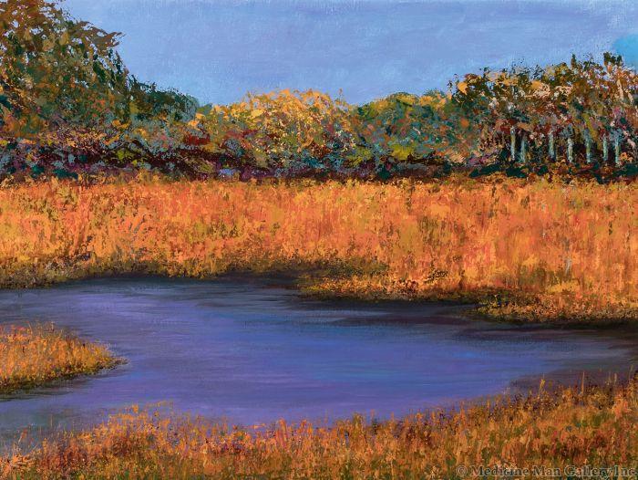 Marcella Hirschy of the Miramontes - Autumn Marsh